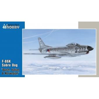 """F-86K Sabre Dog """"Dutch, Italian & Norwegian"""""""