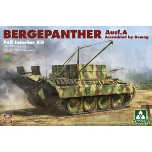 """Bergepanther Ausf. A """"Full Interior"""" Assembled by Demag"""