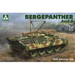 "Bergepanther Ausf. D Umbau Seibert 1945 ""Full Interior"""