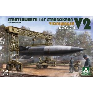 Stratenwerth 16t Strabokran Vidalwagen Rocket V2