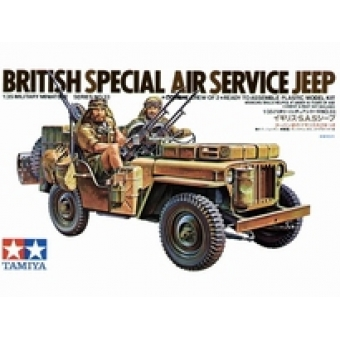 British Special Air Service Jeep