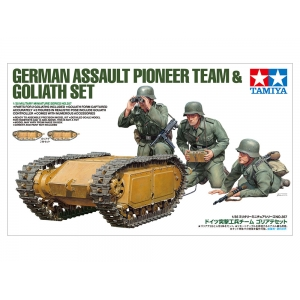 German Assault Pioneer Team & Goliath Set