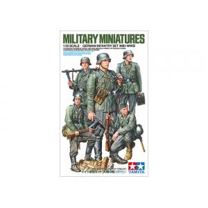 German Infantry Set (Mid-WWII)