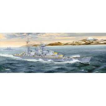 German Heavy Cruiser Blücher